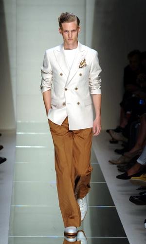 salvatore ferragamo giacca pantalone primavera estate 2011
