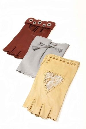 sermoneta gloves guanti dita scoperte primavera estate 2011