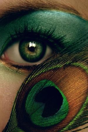 verde smeraldo make up 2013