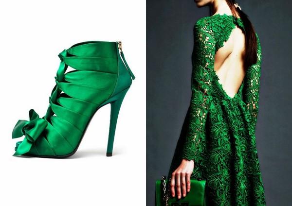 verde smeraldo tendenza pe 2013