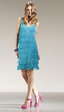anna rachele collezione primavera estate 2010 abito celeste