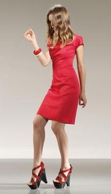 anna rachele collezione primavera estate 2010 abito rosso