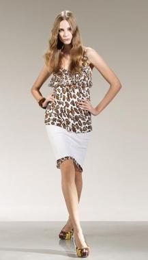 anna rachele collezione primavera estate 2010 leopardato