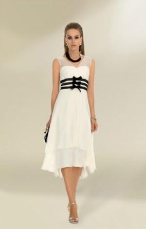 luisa spagnoli abito bianco pe 2013