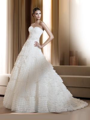 pronovias sposa 2011 modello fontana