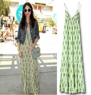 maxi dress per una comoda celebrita tendenze collezione primavera estate 2012 03