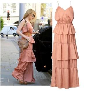 maxi dress per una comoda celebrita tendenze collezione primavera estate 2012 04