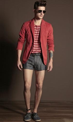 trussardi shorts primavera estate 2011