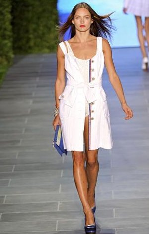 tommy hilfiger abito cintura primavera estate 2011