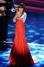 Silvia Mezzanotte sceglie Anna Marchetti per il suo look a Sanremo 2012