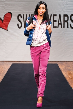 sweet years completo rosa autunno inverno 2010 2011