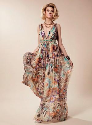 blumarine donna collezione primavera estate 2012 09
