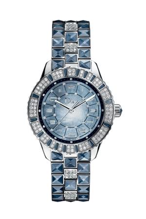dior collezione cristal dazzling blu ai 2010