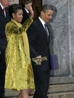 Michelle Obama veste Calvin Klein