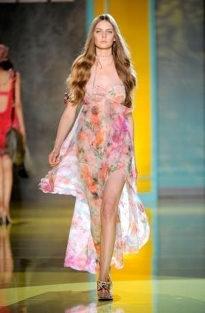 patrizia pepe abito lungo primavera estate 2011