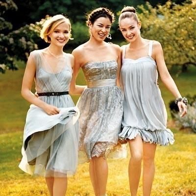 amiche della sposa abiti