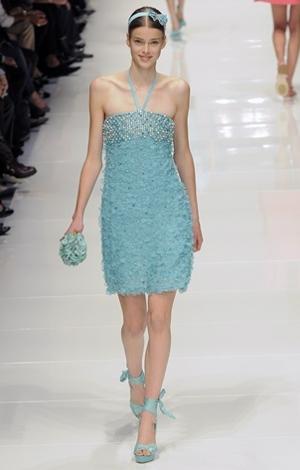 blugirl abito collezione primavera estate 2011