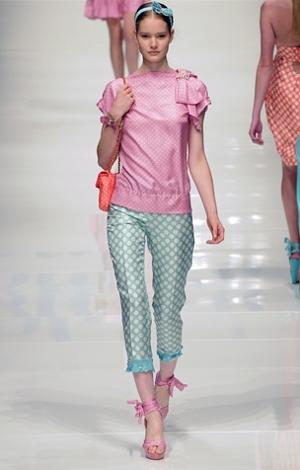 blugirl pantalone primavera estate 2011