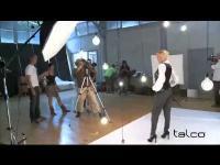 Talco Video Backstage Spot con Paola Barale