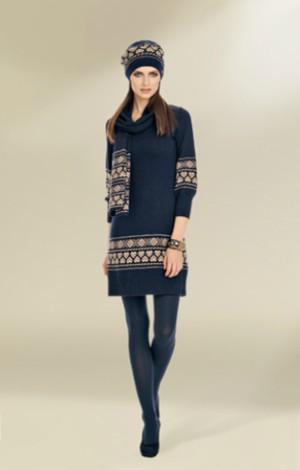 luisa spagnoli ai 2012 2013 abito lana