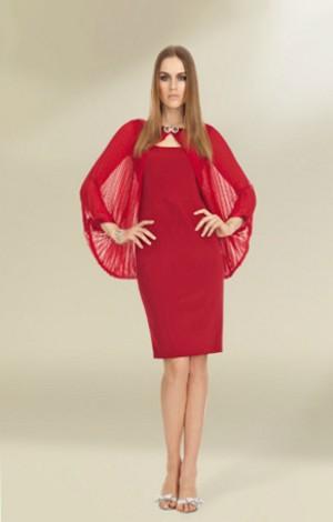 luisa spagnoli ai 2012 2013 cerimonia abito rosso