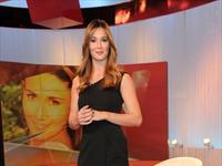 Silvia Toffanin veste Alberta Ferretti