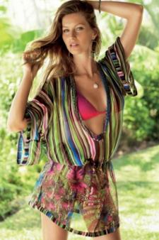 calzedonia collezione costumi estate 2010 multicolor