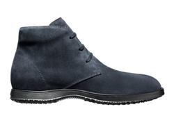 scarpa hogan uomo camoscio blu autunno inverno 2010 2011