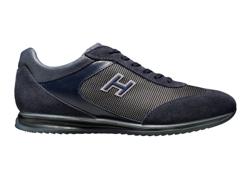 scarpa hogan uomo sneakers blu autunno inverno 2010 2011