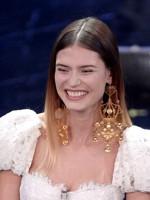 Bianca Balti sceglie Dolce&Gabbana
