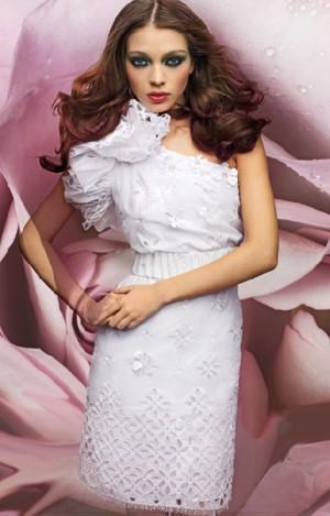 maria grazia severi abito bianco pe 2011