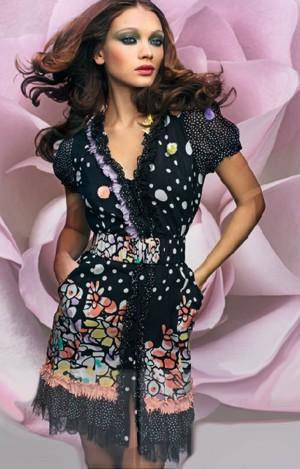 maria grazia severi abito cintura pe 2011