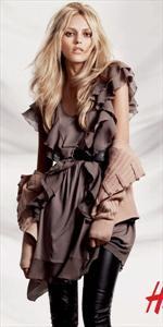 Anja Rubik per H&M