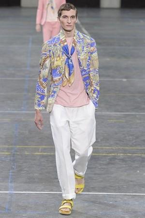 kenzo uomo collezione primavera estate 2012 01