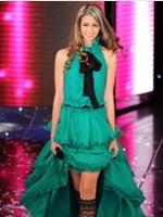 Jessica Brando sceglie gli abiti D&G per Sanremo 2010