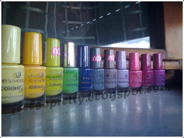 romantiche unghie color pastello collezione primavera estate 2012 03