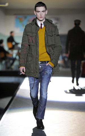 dsquared2 per un look originale e versatile collezione uomo autunno inverno 2012 2013 02