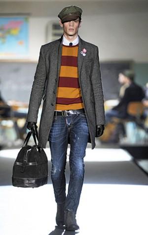 dsquared2 per un look originale e versatile collezione uomo autunno inverno 2012 2013 06