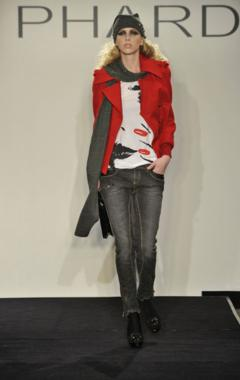 phard autunno inverno 2010 2011 giacca rossa