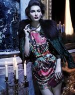 Class Roberto Cavalli, seta maliziosa e stampe damascate