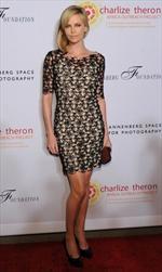 Charlize Theron indossa Christian Dior ad un evento di beneficenza