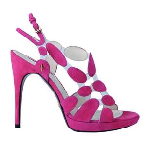 cesare paciotti collezione primavera estate 2010 scarpe viola