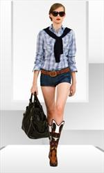 """D&G propone per la Primavera Estate 2010 una """"cowgirl"""""""